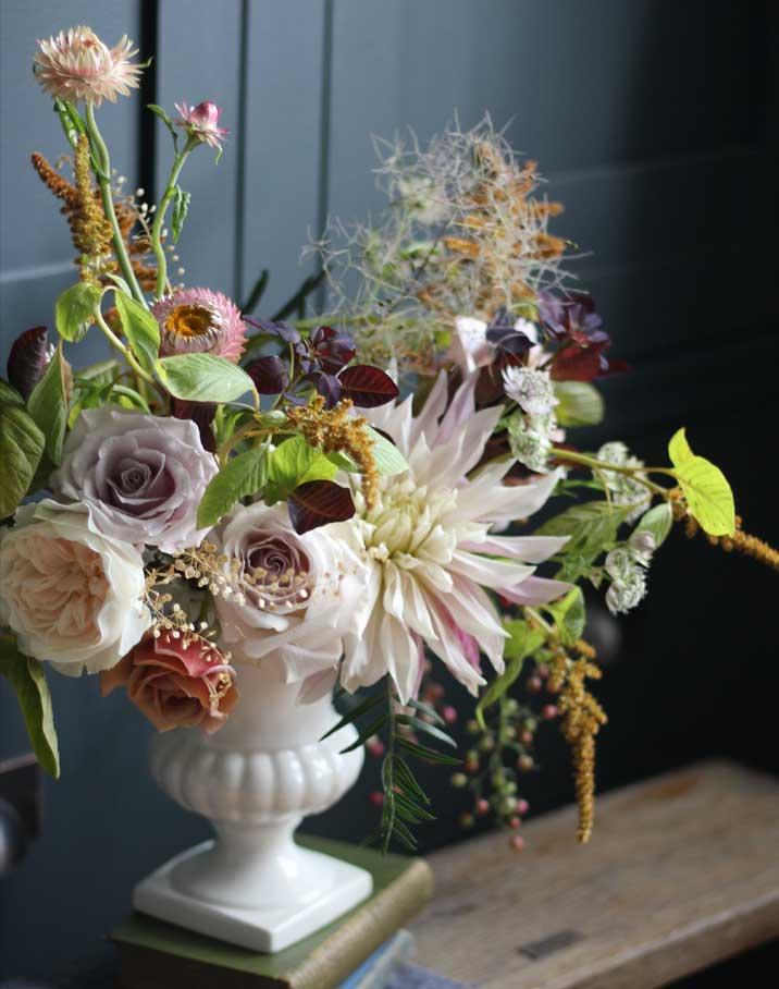 white-urn-arrangement